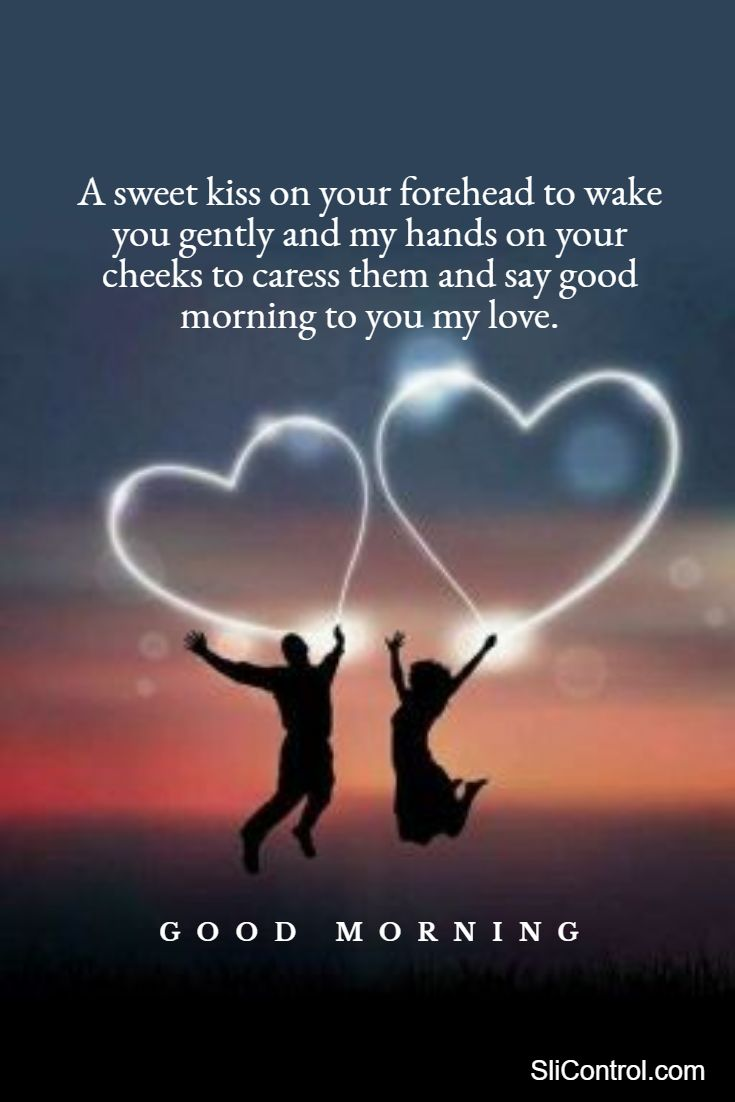 romantic good morning love quotes messages for him her