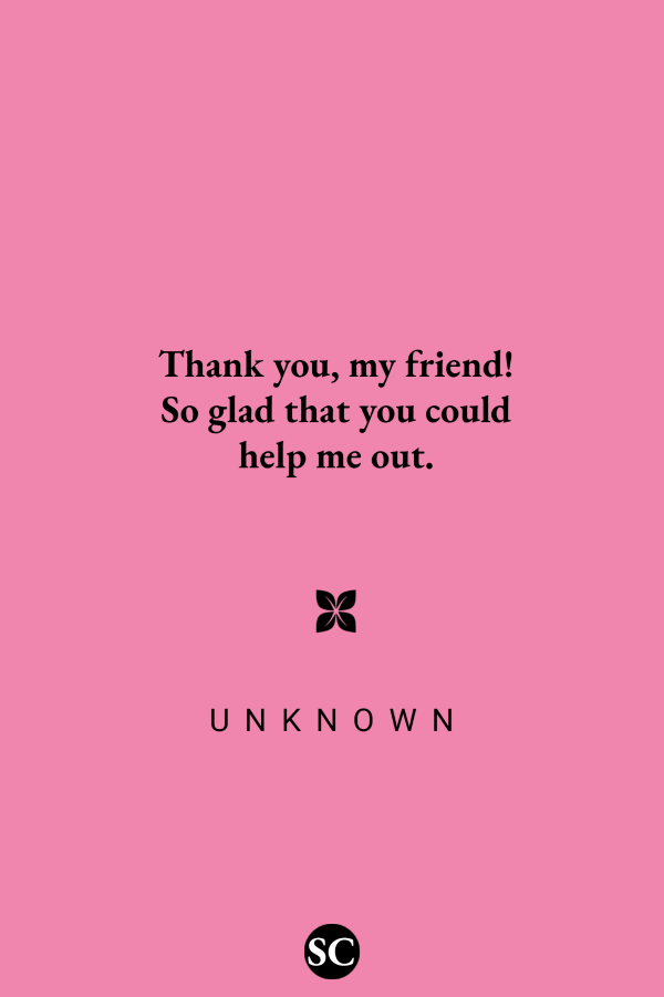 Thank You Messages for Friends | Thank You Messages, Wishes and Quotes