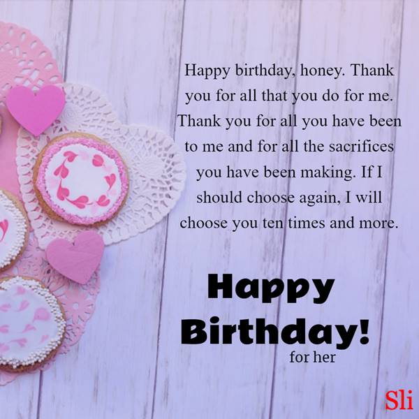 Happy Birthday Wishes for Her   Funny Birthday Wishes, Best Romantic birthday messages, happy birthday images