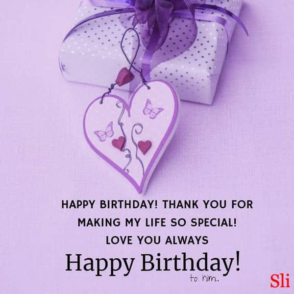 Super Romantic Birthday Wishes For Him   Happy birthday wishes for him, Birthday wishes for lover, Birthday wish for husband