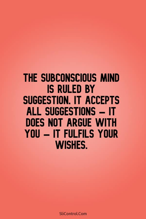 30 Law of Vibration Your subconscious mind Shapes Your Reality | | Mind power quotes, Subconscious mind power, Subconscious mind