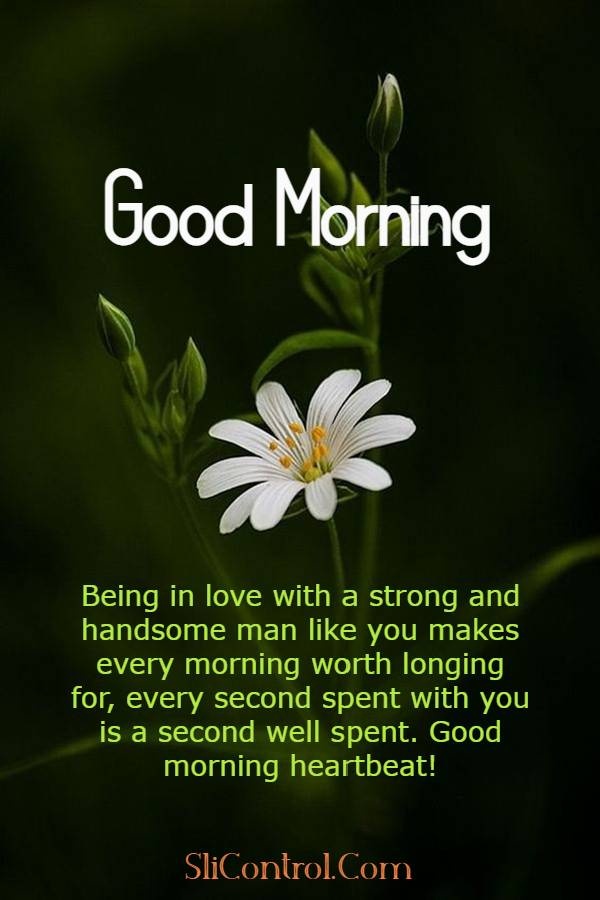 80 Romantic Good Morning Messages for Him | good morning text to make him smile, have a good day love, good morning quotes for him