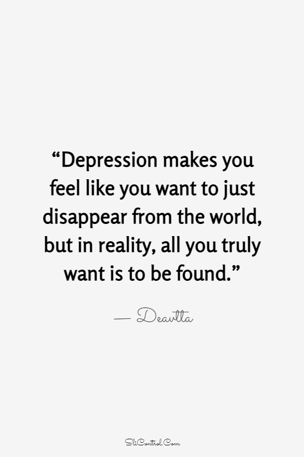 100 Depressed Life Quotes Sayings That Capture Life | short depressing quotes, im sad quotes, most depressing quotes