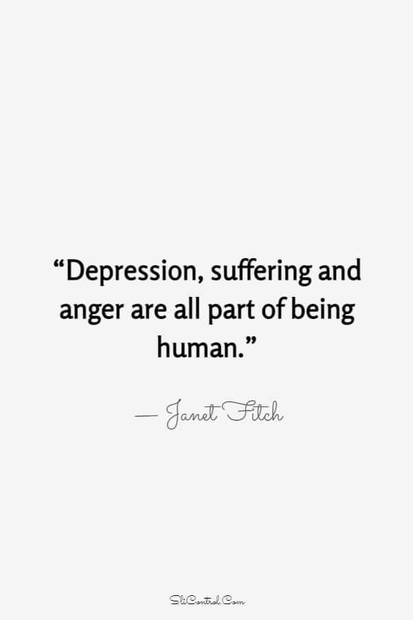 100 Depressed Life Quotes Sayings That Capture Life | coping with depression quotes, anxiety depression quotes, sad quotes depression