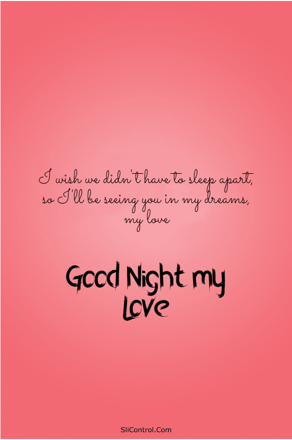 110 Sweet Good Night Messages for Him Wishes Quotes | Good night messages, Good night quotes, Sweet dreams  my love