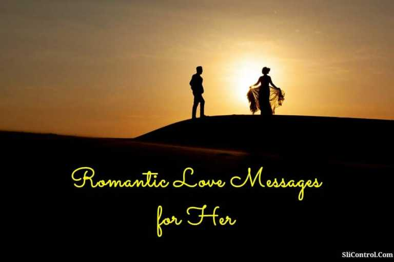 Romantic Love Messages for Her Wishes Quotes