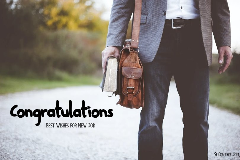 Congratulation Messages for New Job