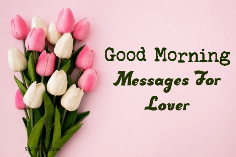 Good Morning Messages For Lover