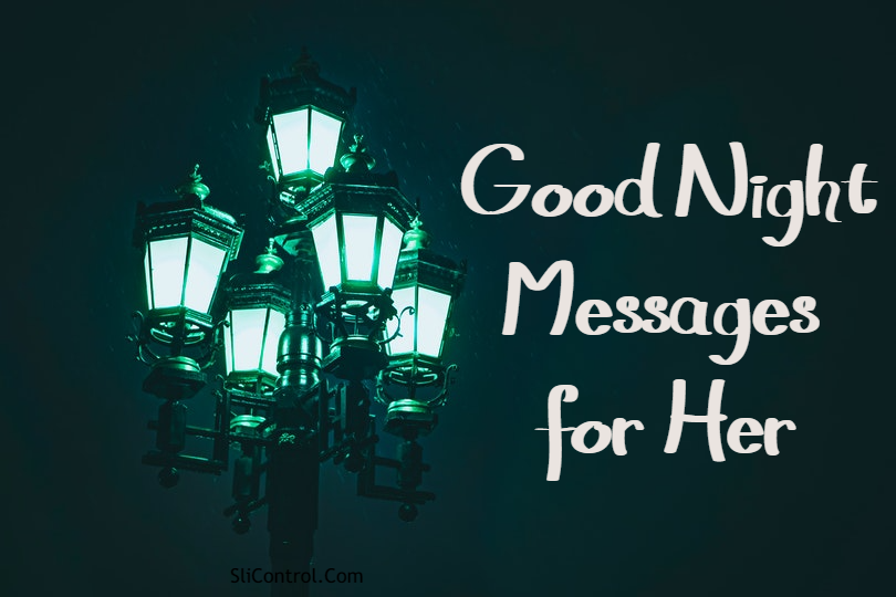 romantic good night messages for her