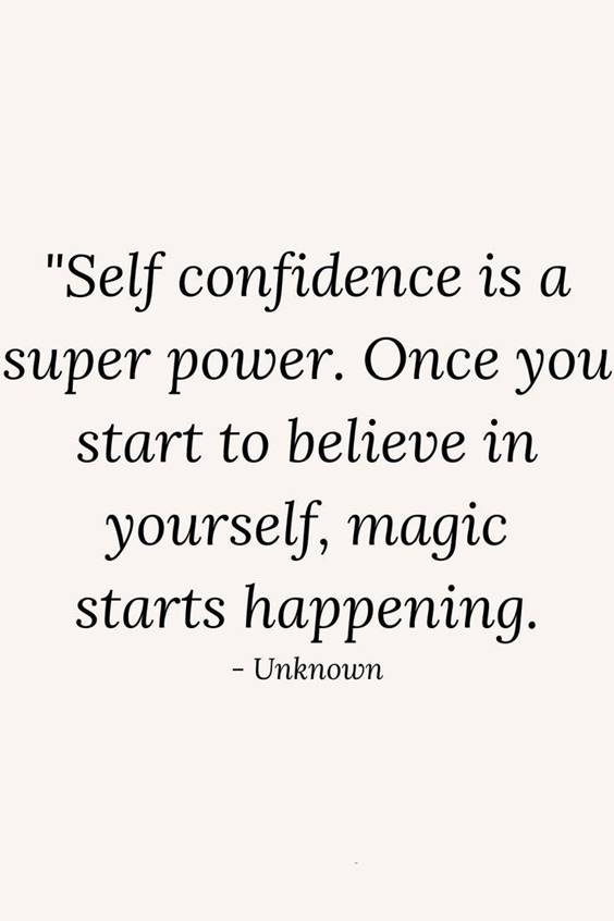 Self Confidence Motivational Quotes