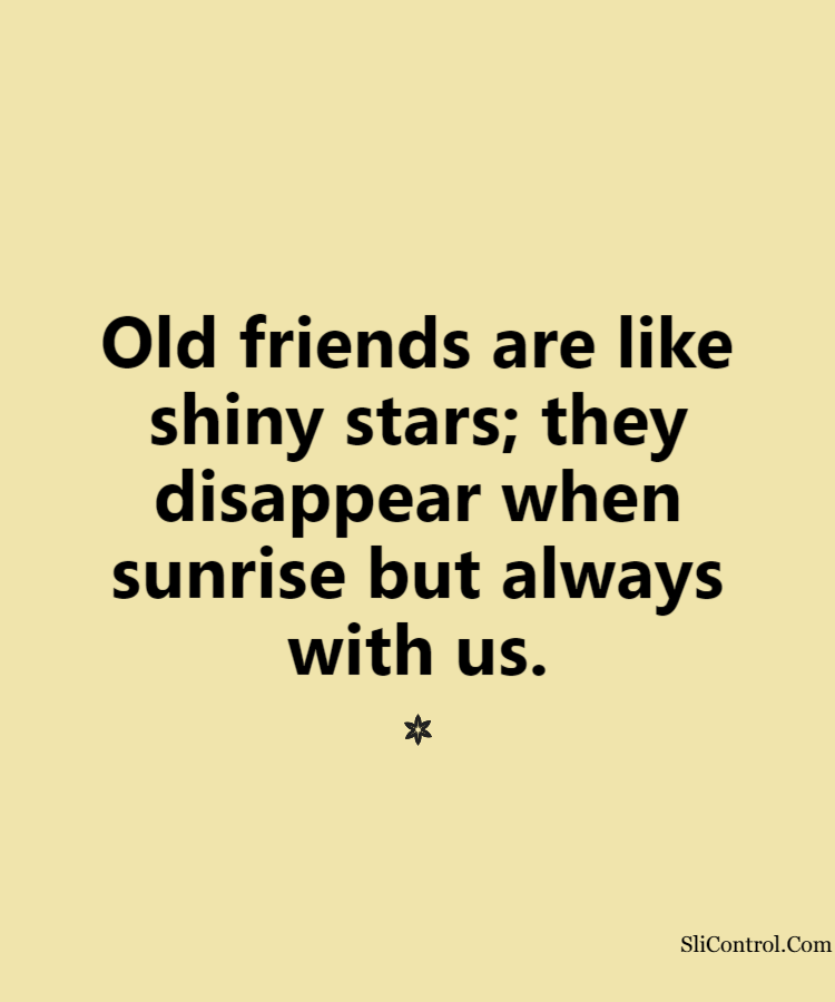 old friends quotes of my life's celebrations