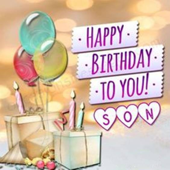 Happy Birthday To Son