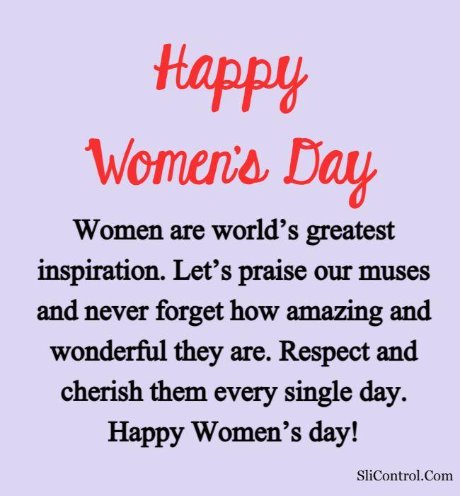 Happy Women's Day Quotes