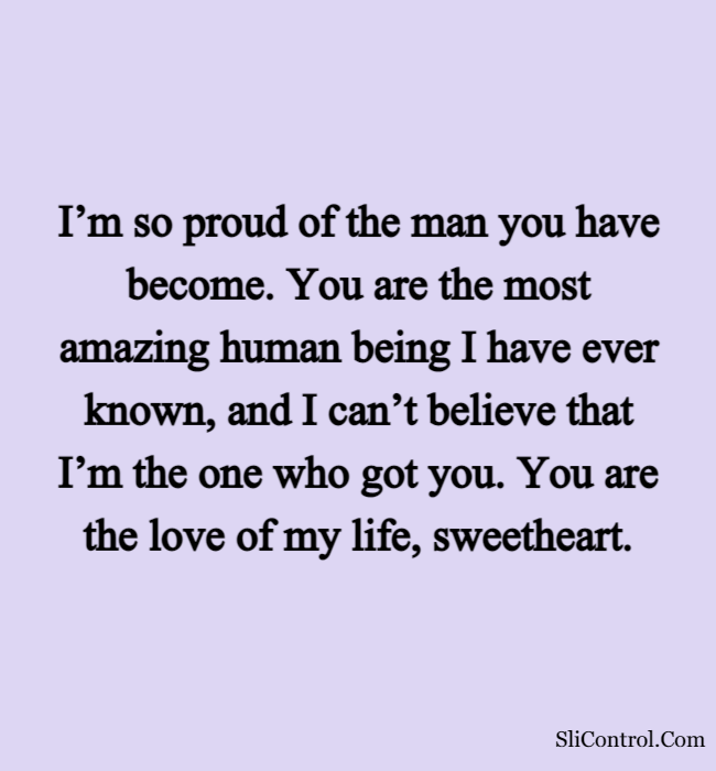 Romantic Love Words For Him